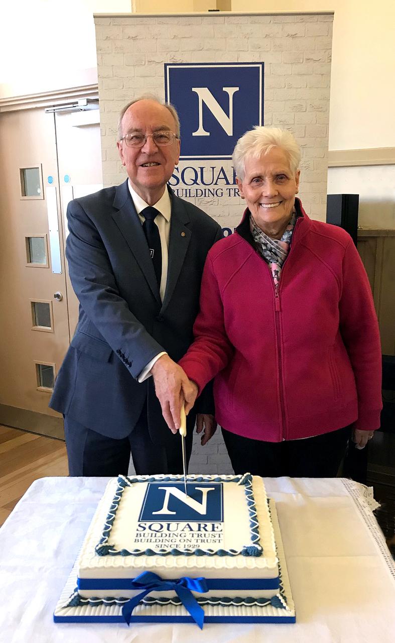Peter Matthew & Lily Gardner SBT 90th
